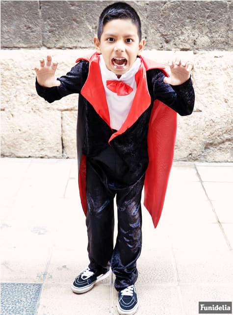 Vampier kostuum dracula voor kind