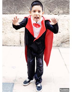 Greven Dracula Maskeraddräkt Barn
