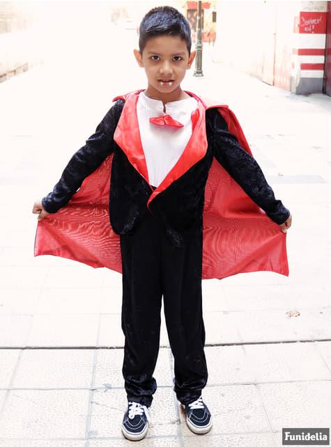 Disfraz de Conde Drácula para niño