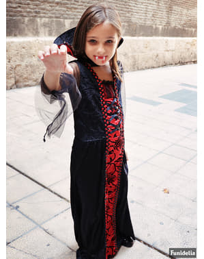 Gotisk vampyrkostume til piger