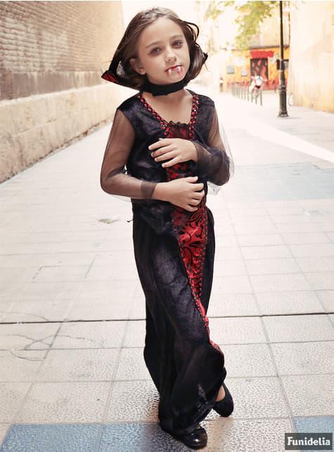 Disfraz de vampira gótica para niña - Halloween