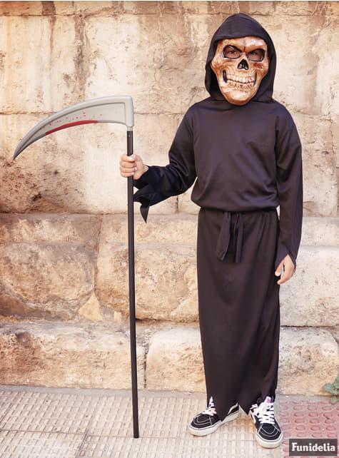 Chlapecký kostým smrťák