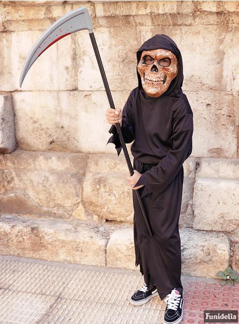 Disfraz de muerte fantasmagórica para niño - traje