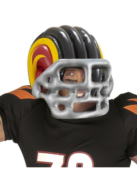 Casco de fútbol americano hinchable - para tu disfraz