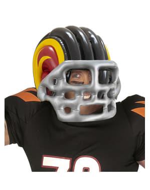 Nafukovací helma na americký fotbal