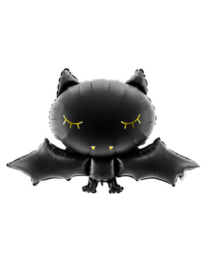 Luftballon Fledermaus Halloween