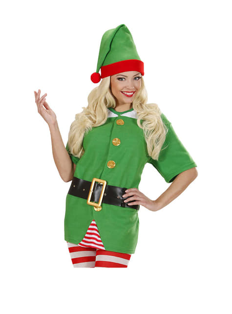 Womens Santa's Little Elf Helper Costume