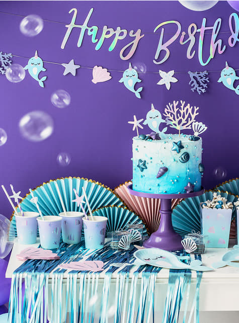 20 Seashell Cocktail Napkins (13 cm) - for kids and adults