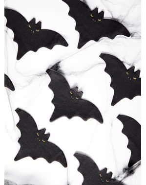 20 Bat Cocktail Napkins (16 cm)