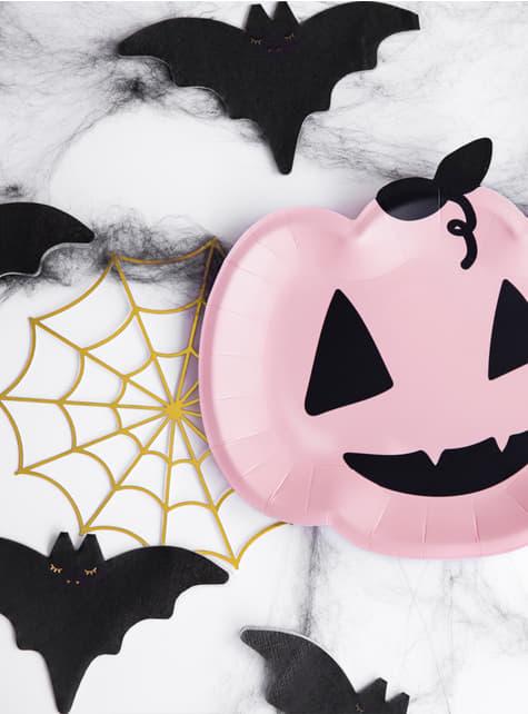 20 servilletas de cóctel de murciélago (16 cm) - para decorar todo durante tu fiesta