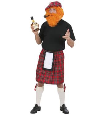 Saia escocesa para adulto