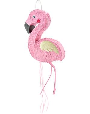 Piñata de flamenco rosa