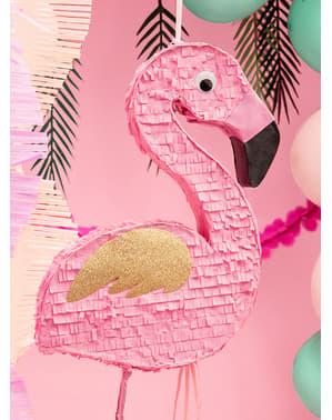 Flamingo Piniata rosa