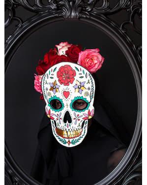 Wit Catrina Masker - Dag van de doden