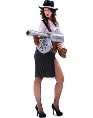Костюм гангстера для жінок