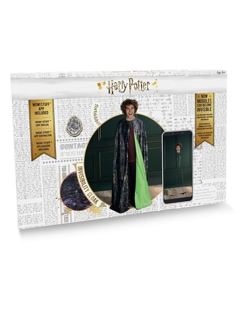 Capa de invisibilidad de Harry Potter - adolescente