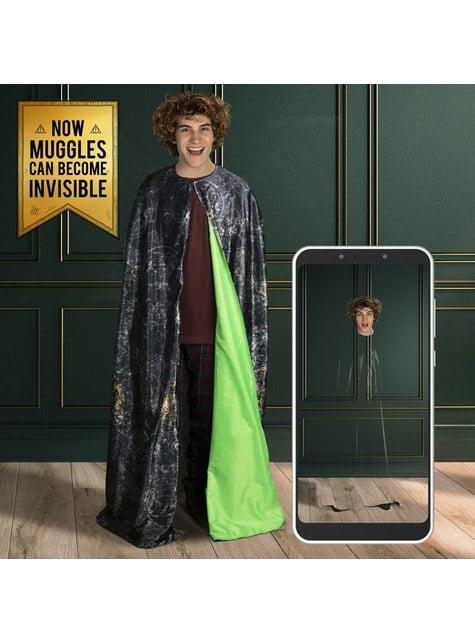 Capa de invisibilidade de Harry Potter