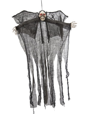 Figura de pendurar de fantasma da morte (110 cm)
