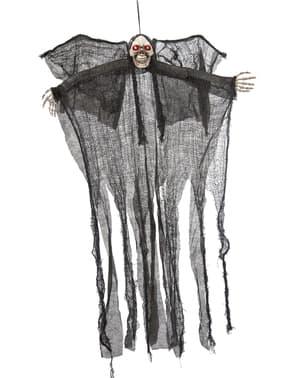 Figurine suspendue fantôme de Faucheuse (110 cm)