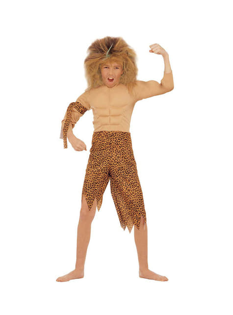Disfraz de tarzán de la jungla para niño