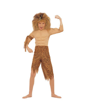 Costum Tarzan din junglă pentru băiat