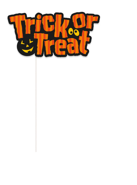 10 Photocall Accessoires Halloween - Trick or Treat