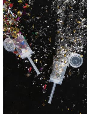Mini armatka kolorowe konfetti