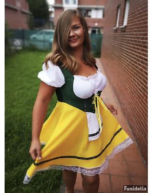 Kostým pro dospělé německá hostinská (Oktoberfest)
