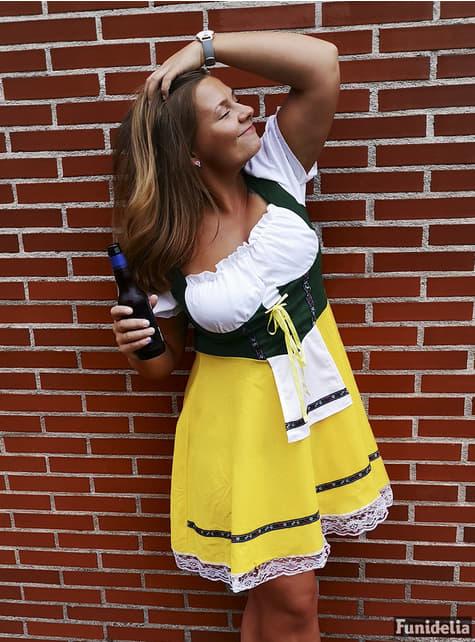 Tyrolerkjole Oktoberfest kostume