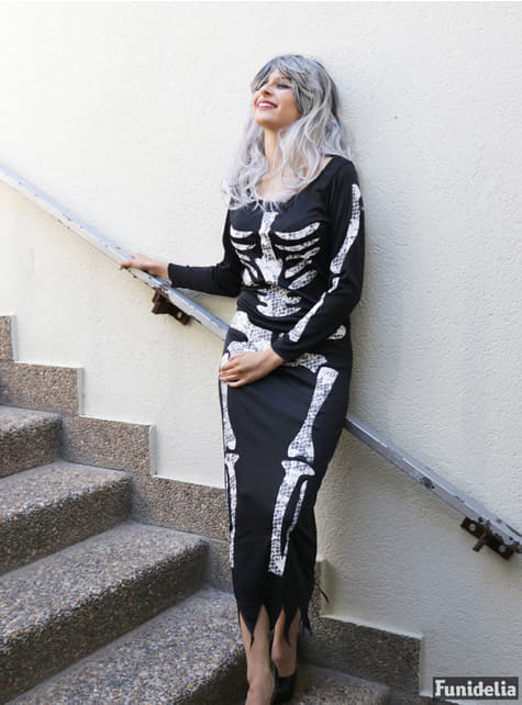 Skeleton Costume for women