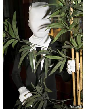 Slenderman Morphsuit Smoking voor kinderen