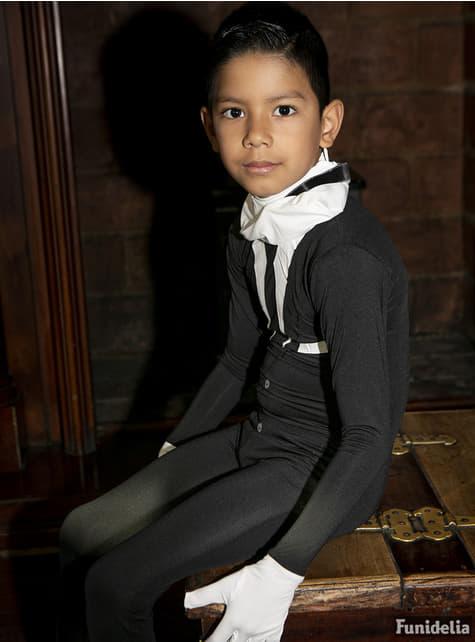 Slenderman szmoking gyerek Morphsuit jelmez