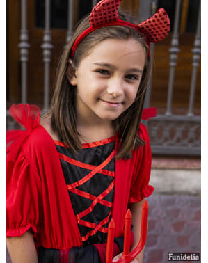 Dievčenský kostým čert