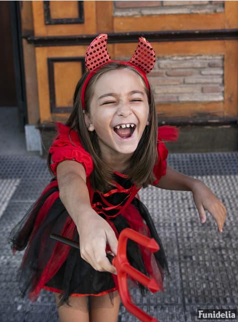 Fato de Diabinha para menina