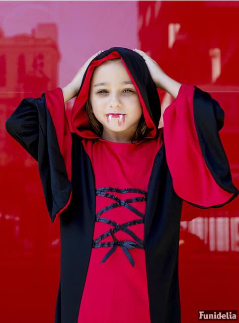Disfraz de dama vampiresa para niña - Halloween