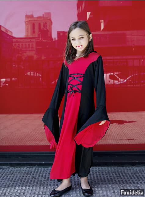 Disfraz de dama vampiresa para niña - Carnaval