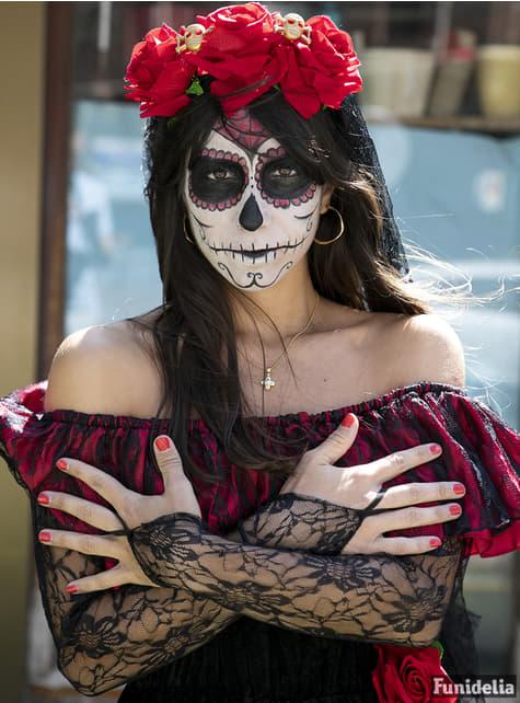 Déguisement Día de los Muertos pour femme