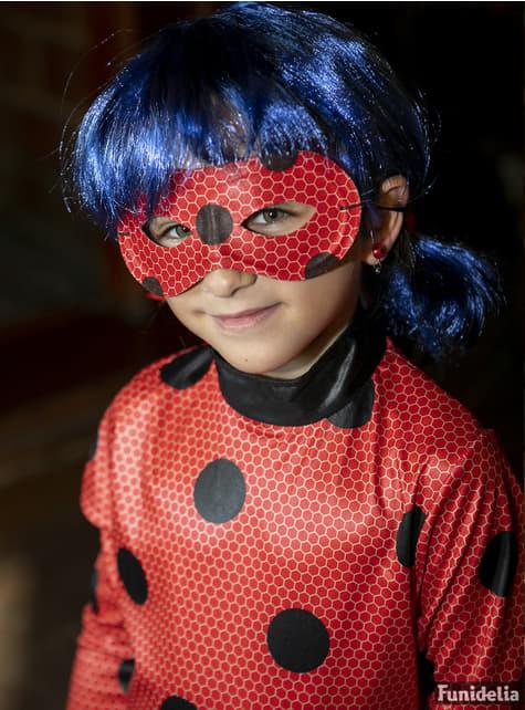 Disfraz de Ladybug con peluca para niña