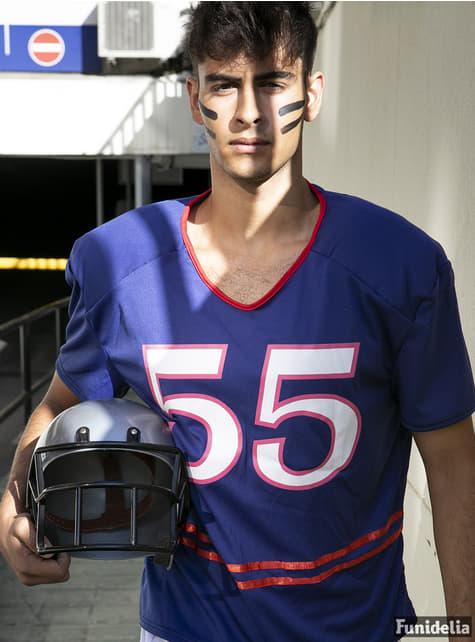 Kostým quarterback modrý