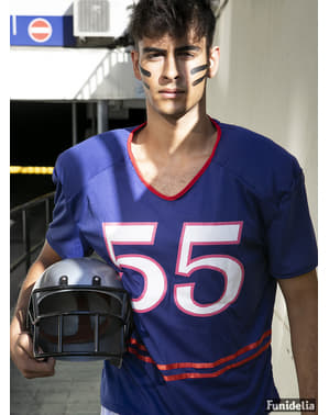 Football Kostüm Quarterback für Herren