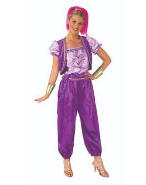 Fato de Shimmer deluxe para mulher - Shimmer and Shine