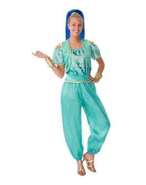 Deluxe Shine kostým pre ženy - Shimmer a topánok
