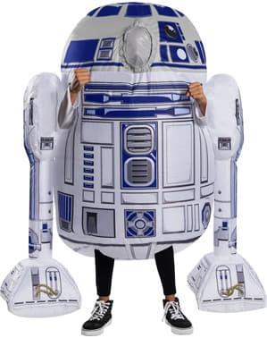 Inflatable R2D2 kostuum voor jongens - Star Wars