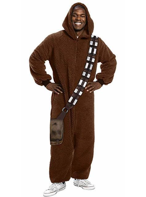 Maskeraddräkt Chewbacca onesie för vuxen - Star Wars