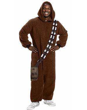 Chewbacca לבבית תלבושות למבוגרים - מלחמת הכוכבים