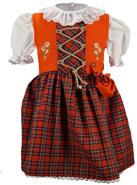 Oktoberfest Dirndl in Red for girls