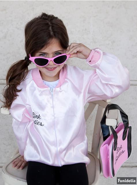 Pink Lady jasje voor meisjes - Grease