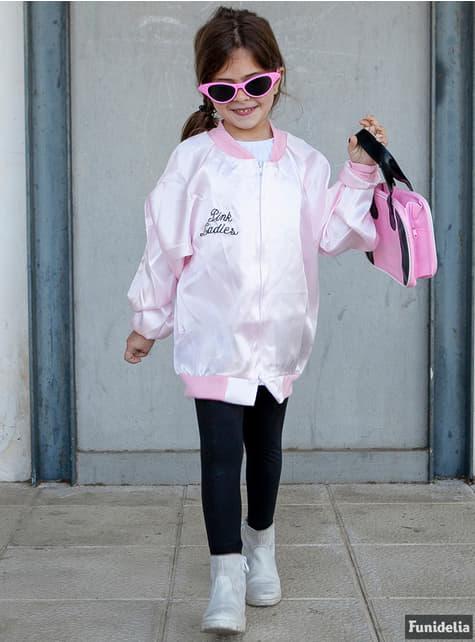 Chaqueta de Pink Ladies para niña - Disfraz Grease - traje