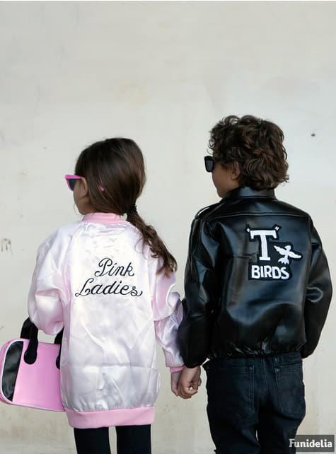 Chaqueta de Pink Ladies para niña - Disfraz Grease - Halloween