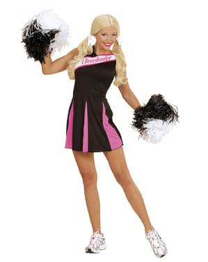 Cheerleader Kostüm für Damen Classic